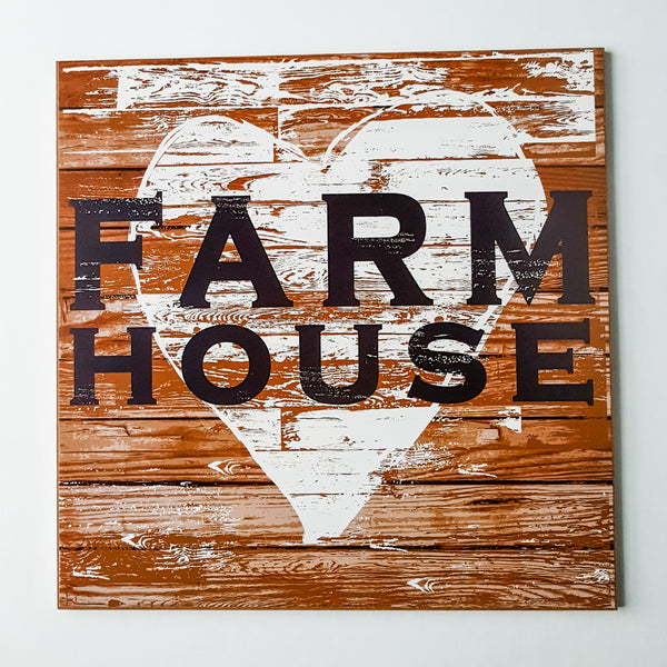 """Farmhouse"" Sign"