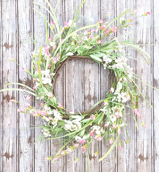 Shades of Pink Wreath