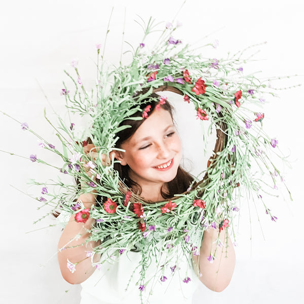 Shades of Lavender Wreath