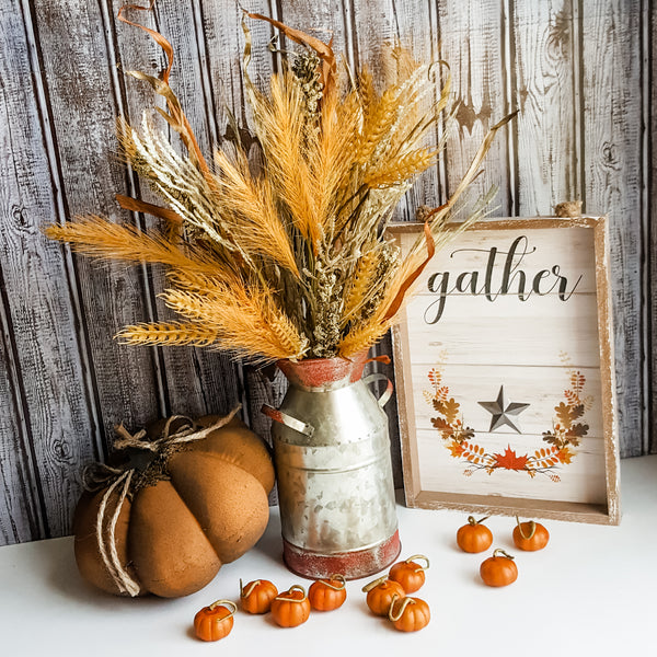 Wheat and Fall Grasses Floral Picks (Set of 3)
