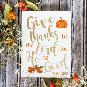 Thanksgiving Box Signs (2 styles)