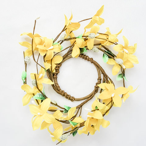 Forsythia Mini Wreath