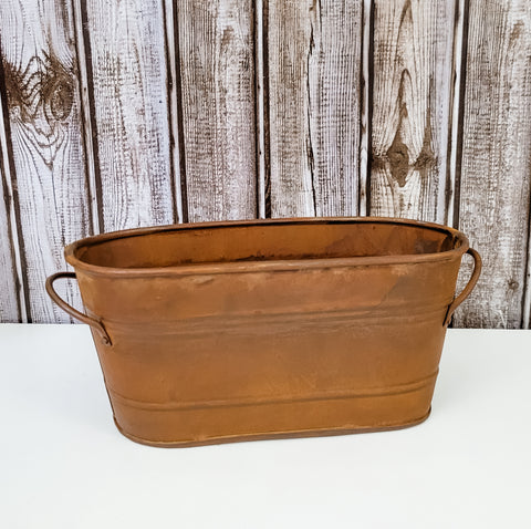 Rust Metal Planter