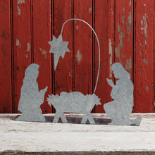 Load image into Gallery viewer, Metal Stand Up Nativity