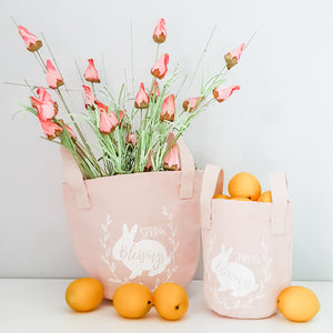 Spring Mini Tote Bags (Set of 2)