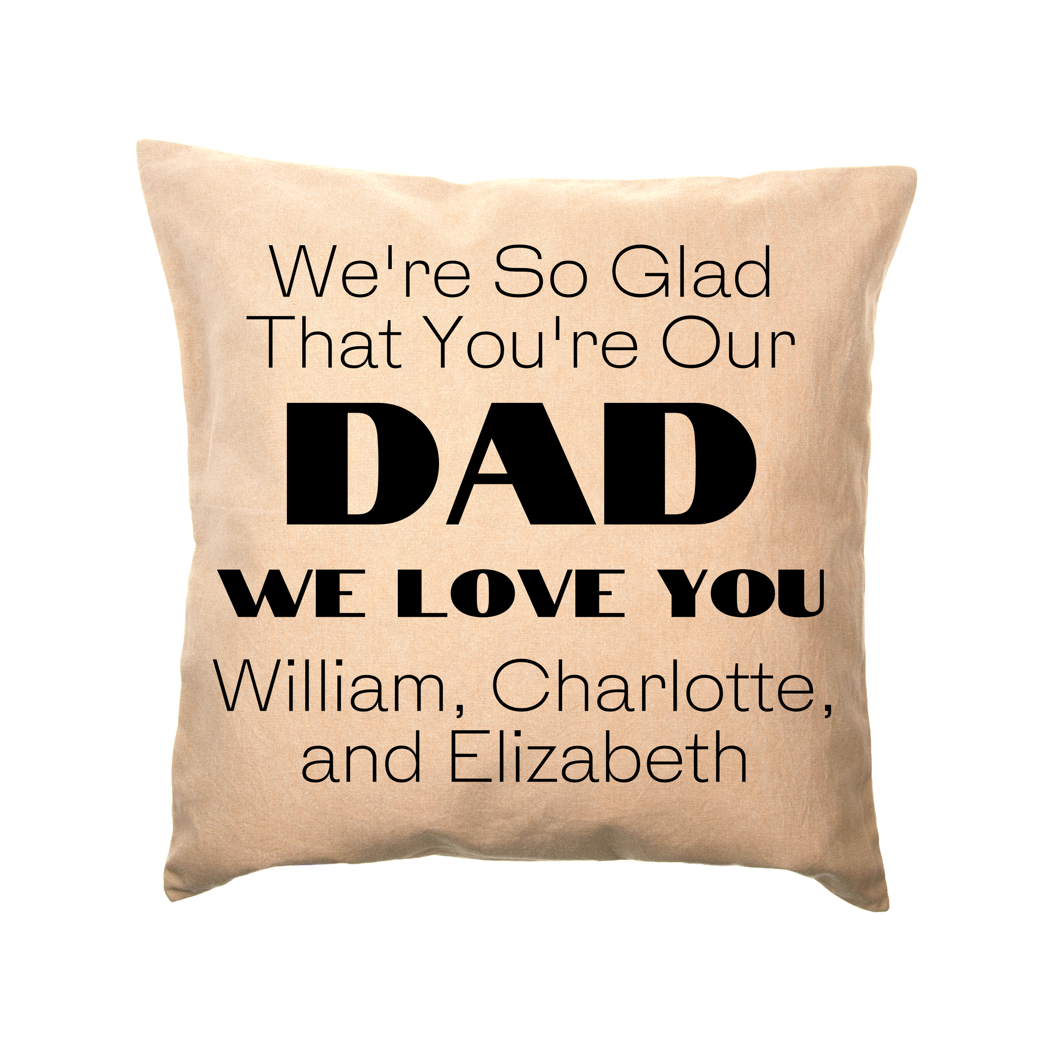 Personalized Father's Day Pillow Covers
