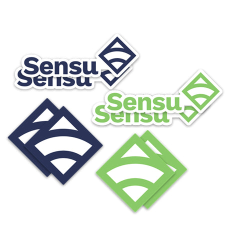 Sensu Bulk Sticker 50-Pack