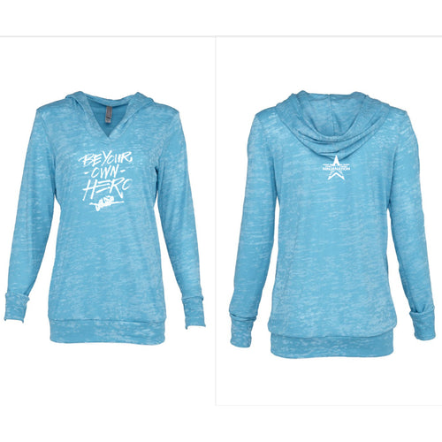 Jessie Graff - Be Your Own Hero - Women's Hoodie