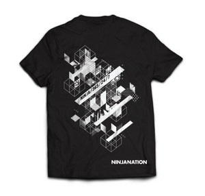 Ninja Nation Kids T-Shirt - Black