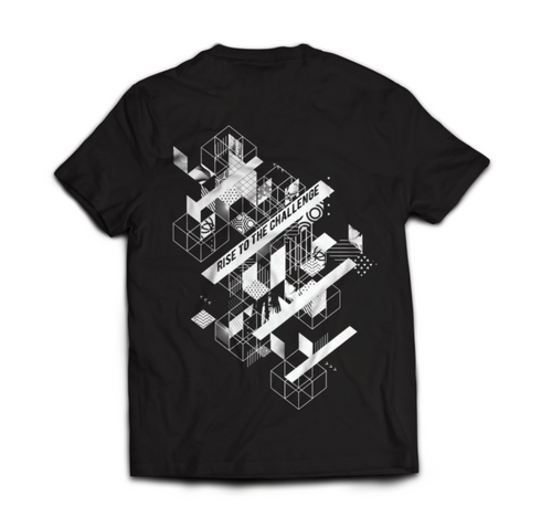 Ninja Nation Black T-shirt with