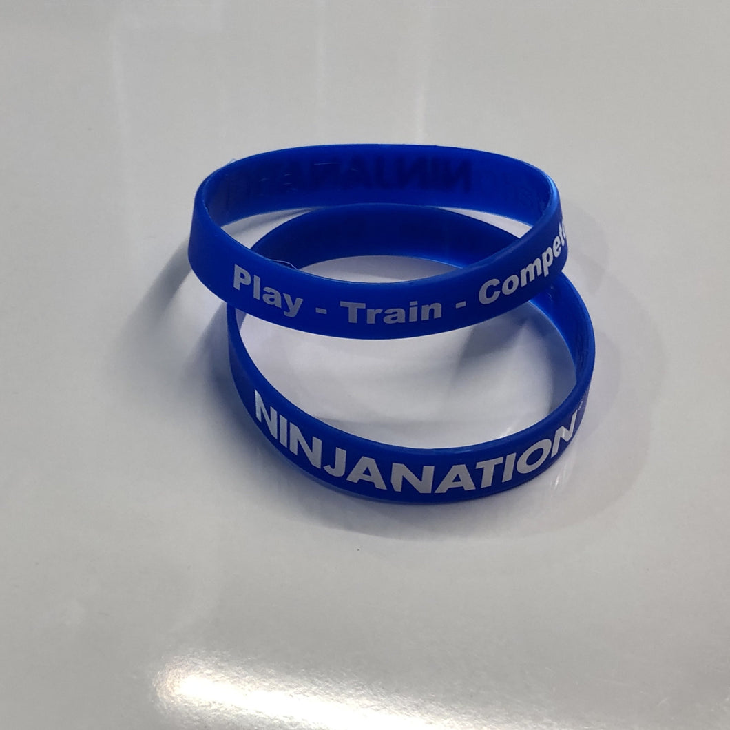 Ninja Nation Silicone Wristband— 100 pack