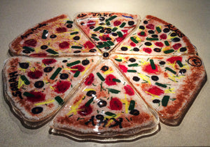 Glass Pizza Plates