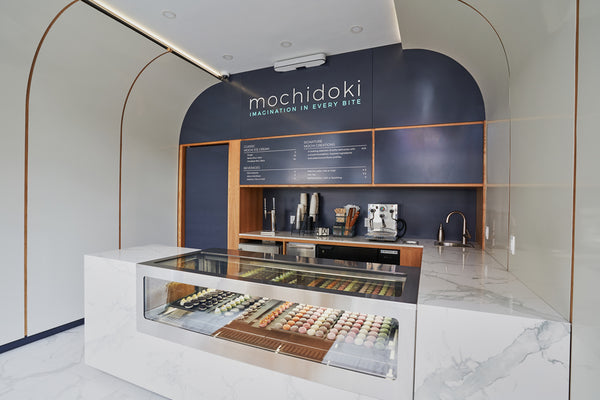 Mochidoki Mochi Ice Cream Store Interior