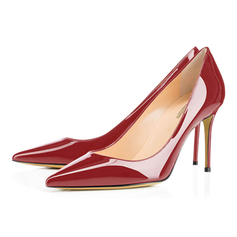 Modemoven Pointed Toe Pumps High Heels