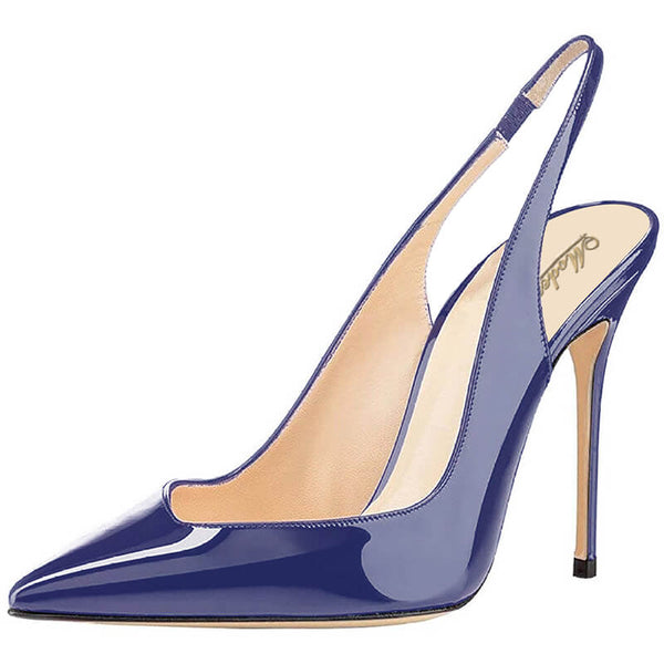 Modemoven Patent  Leather Stiletto High Heels Fashion Pumps - Modemoven