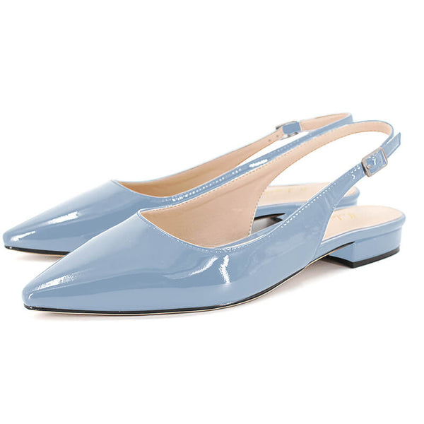 Modemoven Slingback Pointed Toe Flats - Modemoven