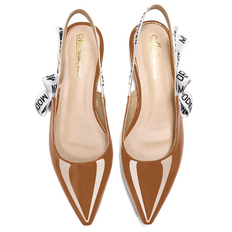 Modemoven Sling-Back Fashion Flats