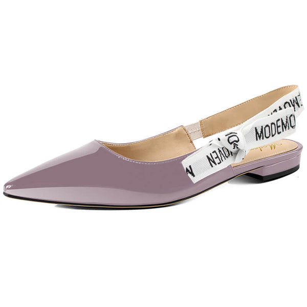 Modemoven Women's Fashion Sling-Back Flats - Modemoven