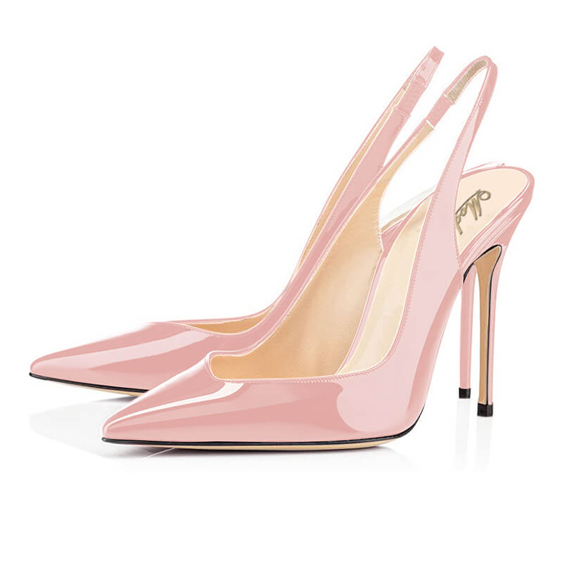 Modemoven Patent Leather Stiletto Heels Party Evening Pumps