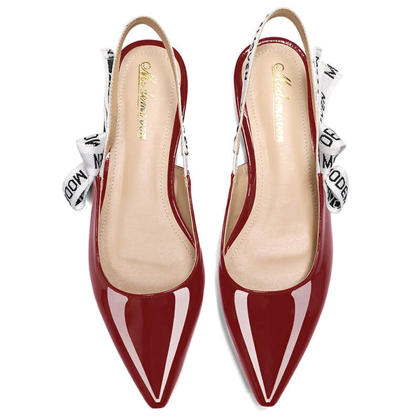 a18a5d43bd7 Modemoven Slingback Shoes Women Fashion Pumps High Heel Low Heel Style