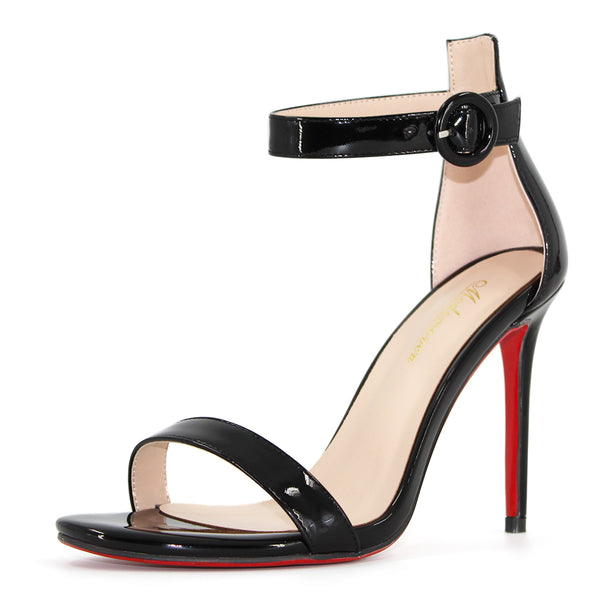 Modemoven Open Toe Ankle Strap Sandals,High Heel Sandals,Summer Stilettos