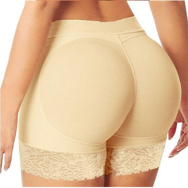 S-3XL Women Padded Butt Lifter Panty Body Shaper Fake Hip Shapwear Ladies Shorts Plus Size Shaper XXXL XXL XL - Modemoven