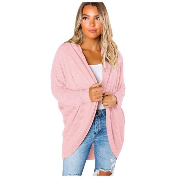 Sweater Women Long Sleeve Knitwear Open Front Casual Cardigan Sweaters Outerwear  pull femme nouveaute 2019 winter - Modemoven