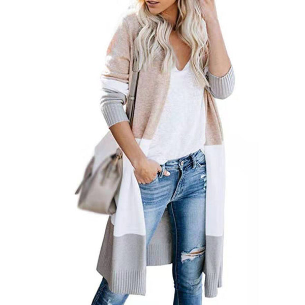 Casual Thin Sweater Women Cardigan Lightweight Long Long Sleeve Fashion Soft Knitted Plus Size Coat Autumn Open Front Outwear - Modemoven
