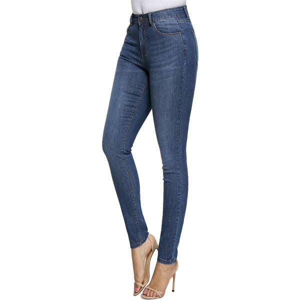 Super Plus Size Summer Woman's High-stretch Denim Pants Gloria Jeans for Women Breeches Overalls Vintage Female Torn Trousers - Modemoven