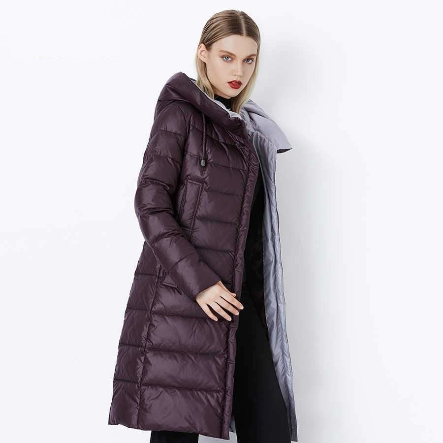 2019 Coat Jacket Winter Women's Hooded Warm Parkas Bio Fluff Parka Coat Hight Quality Female New Winter Collection Hot - Modemoven