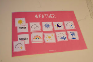 Preschooler Learning Boards