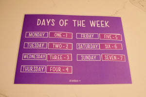 Pre School Learning Boards (downloadable)