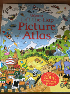 Usborne picture atlas