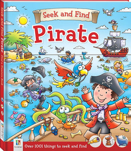 Seek and find Pirate