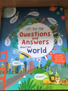 Usborne questions and answers about the world