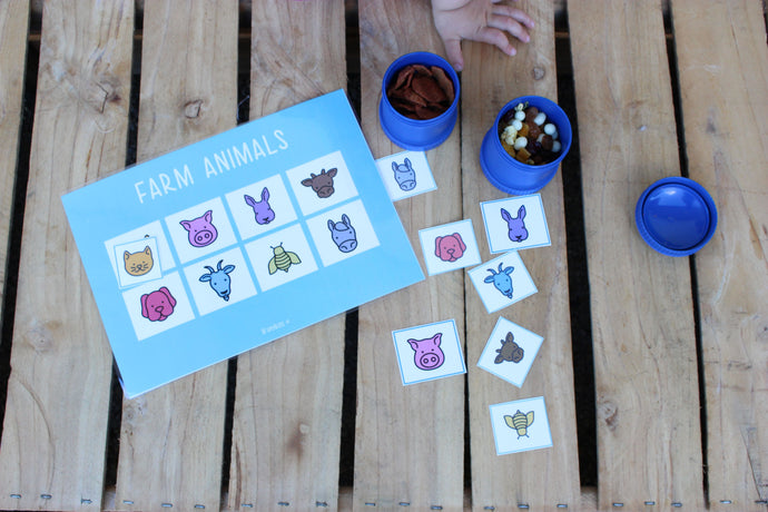 Toddler Learning Boards (downloadable)