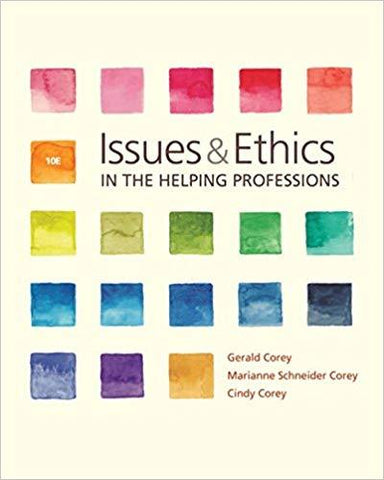 (Original PDF) Issues and Ethics in the Helping Professions, 10th Edition