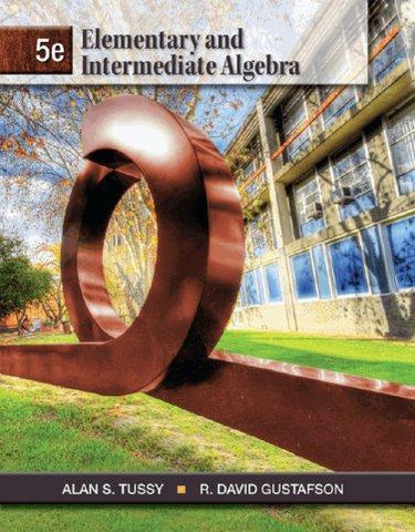 Elementary and Intermediate Algebra 5th Edition PDF