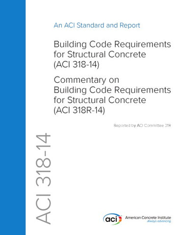 ACI 318-14 Building Code Requirements for Structural Concrete and Commentary PDF