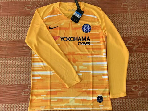 Chelsea Orange GK Long sleeve Jersey