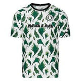 Nigeria Training T-Shirt Pre Match - White/Pine Green/Black