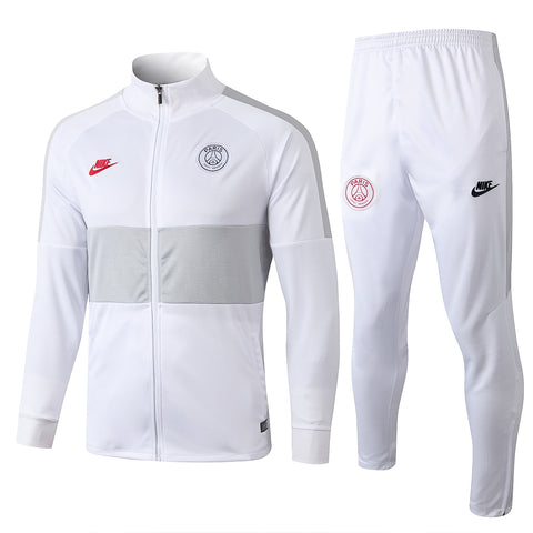 PSG×NIKE WHITE RED Tracksuit 2019/20