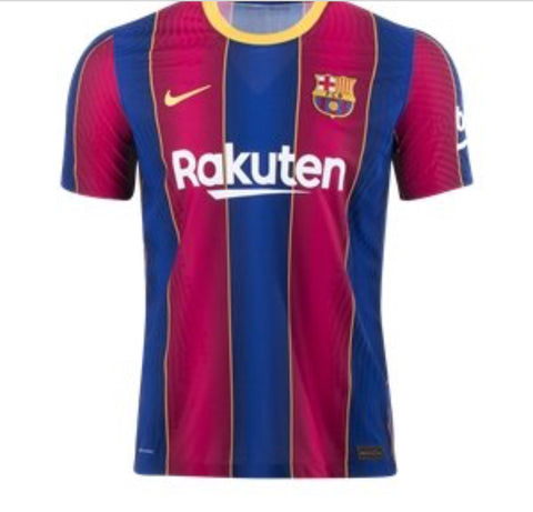 Barcelona 2020/21 Authentic Home Jersey by Nike