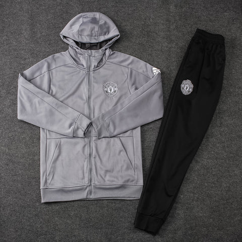 Manchester United Gray Hoodie Suits