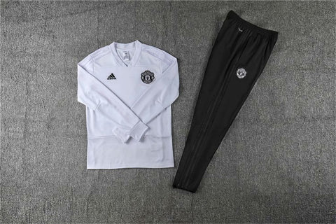 Manchester United White Tracksuit
