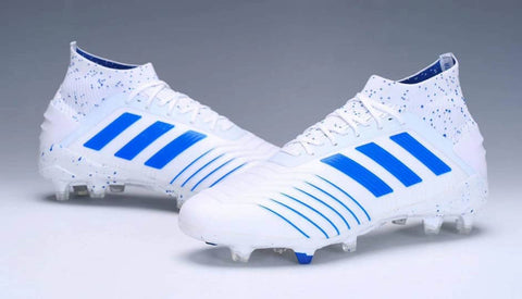 FG Firm Ground Soccer Cleats White/Blue