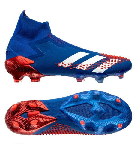 adidas Predator 20+ FG/AG Tormentor - Royal Blue/Footwear White/Action Red