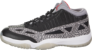 AIR JORDAN XI RETRO LOW IE (BLACK CEMENT)