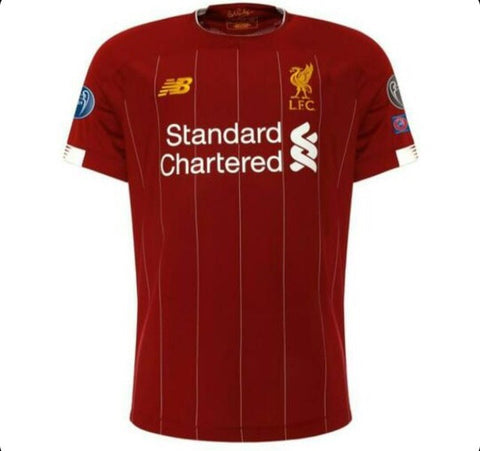 Liverpool 2019 UEFA Champions Jersey