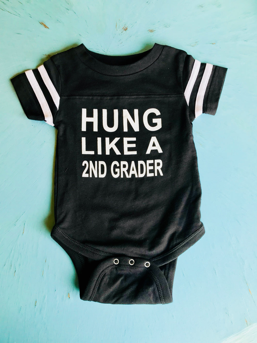 Hung Like A 2nd Grader Onesie